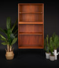G Plan E Gomme Bookcase on Black Hairpin Legs
