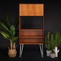 G Plan Form Five Mid Century Teak Bookcase