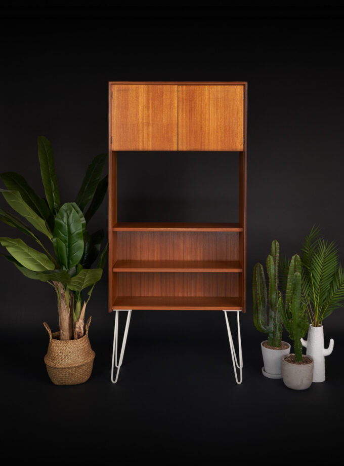 G Plan Form Five Mid Century Teak Bookcase